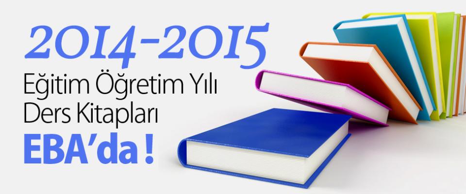 2014-2015 Eğitim-Öğretim Yılı Ders Kitapları