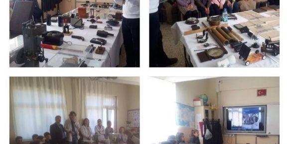 Sinop Gerze Belören Ortaokulu'nda Rahmi M. KOÇ Müzesi sergi açtı