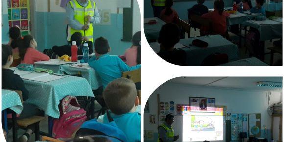 2.Sınıflarımız Trafik Eğitiminde