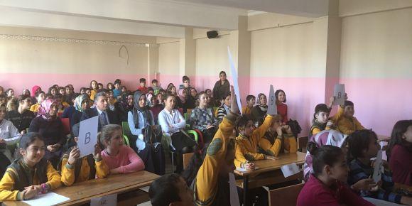4. sınıflar arası Din Kültürü ve Ahlak Bilgisi dersi bilgi yarışması