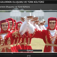 Kültür Bölgelerinin Oluşumu ve Türk Kültürü - 1