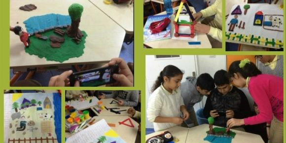 """""""Kör Mustafa'nın STEM Çiftliği"""" eTwinning projesi ikinci ayını tamamladı"""