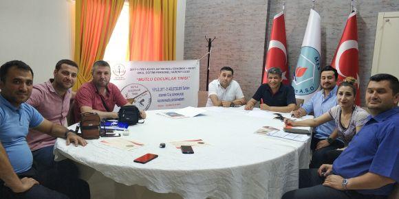 Mutlu Çocuklar Tınısı projesi yaygınlaştırma toplantısı yapıldı