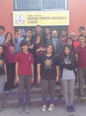 ADANA ERKEK ANADOLU LİSESİ Tiyatro Ekibinden Büyük Başarı