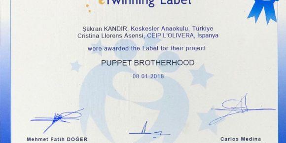 Puppet Brotherhood  e twinning projesi