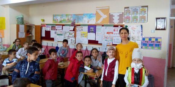 Cengiz Topel İlkokulu 2-F Sınıfı öyküleyici etkinliği