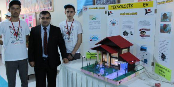 Osman İsot MTAL 2. TÜBİTAK Bilim Fuarı gerçekleştirildi
