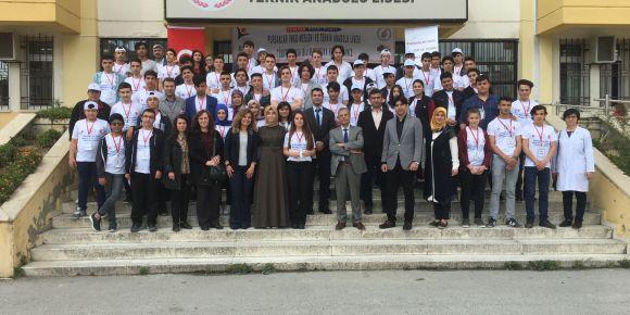 Pursaklar İMKB Mesleki ve Teknik Anadolu Lisesi TÜBİTAK 4006 Bilim Fuarı