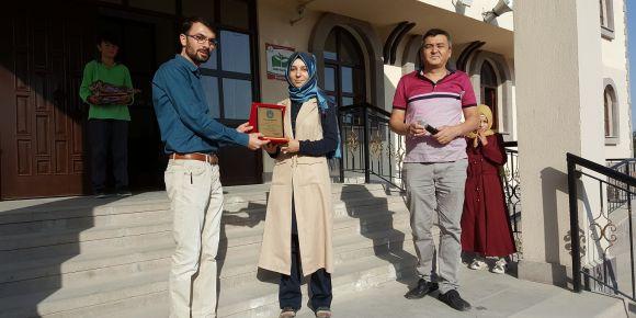 Nimetullah'tan ayrılan öğretmenlere tören düzenlendi