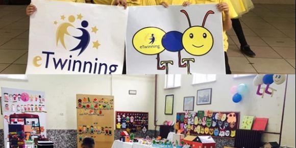 Akşehir Nasreddin Hoca İlkokulunda  eTwinning Sergisi