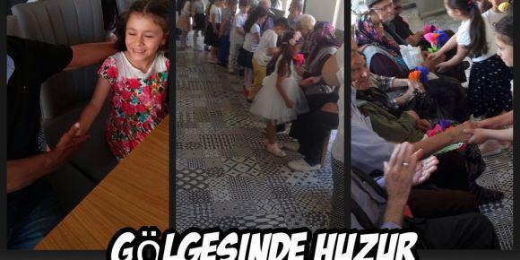 Türkülerle büyüyorum  huzur evi etkinliği
