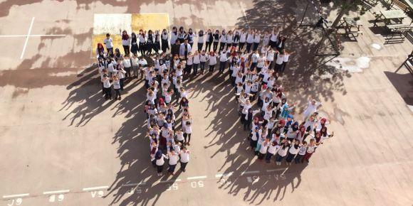 Şehit Mehmet Yılmaz İmam Hatip Ortaokulu Pi Günü etkinlikleri