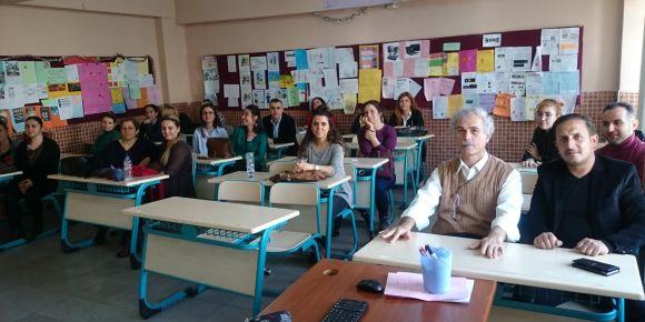 Atatürkçü Düşünce Ortaokulu FATİH Projesi okul toplantısı