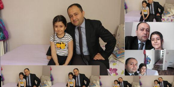 Fatma Yüsra Ermek'i ziyaret