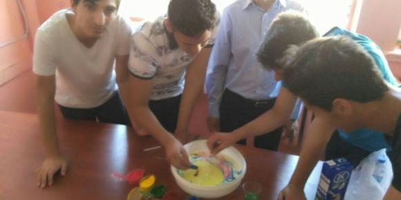 TÜBİTAK Bilim Fuarı fizik dersi proje çalışmaları devam ediyor