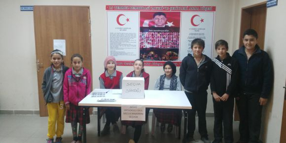 Simav Akdağ Ortaokulu Okul Meclisi Başkanlığı Seçimi
