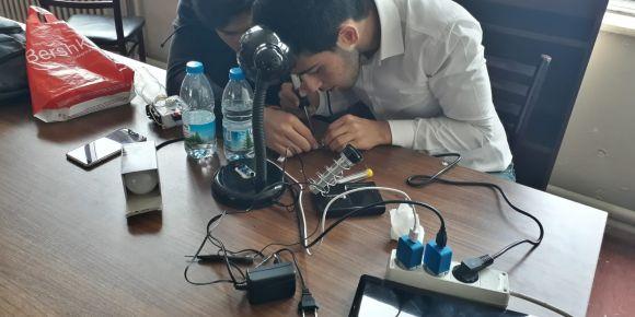 İstanbul Kadıköy Lisesinde bilim şenliği