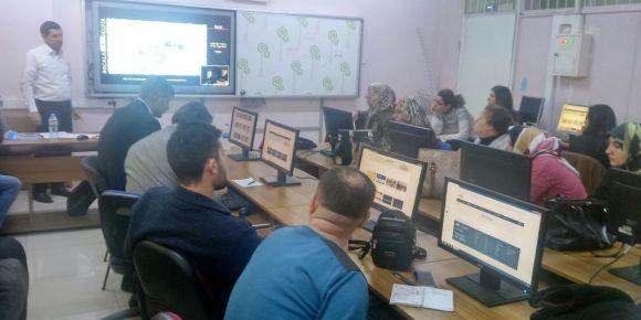Fatih projesi hazırlayıcı eğitimi verildi