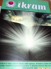 Abdussamed Bal Anadolu İHL Dersi İkram'ın 3. Sayısı Yayınlandı