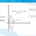 Düzlemde Dik Koordinat Sistemi ve Koordinat Sisteminde Vektörler - 1