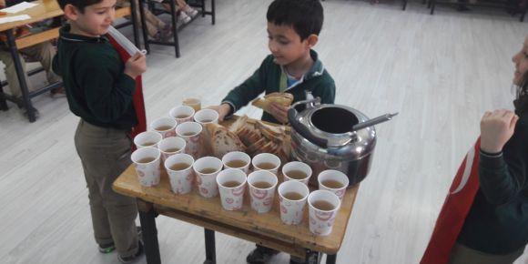 Beyazıt İlkokulu 18 Mart Çanakkale Zaferini coşkuyla kutladı