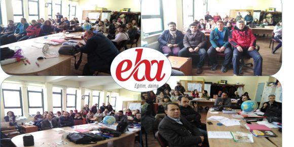 Yıldırım Şehit Piyade Er Nezir Akgül Ortaokulunda yeni EBA tanıtım semineri yapıldı
