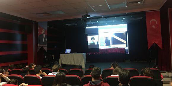 Şehit Pilot Muzaffer Erdönmez Ortaokulu  bilime yolculuk e-konferanslarımız