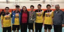 Çorlu Mimar Sinan Anadolu Lisesi Badminton takımı Tekirdağ il 3. oldu
