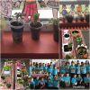 Sınıfımızda organik besinler yetiştiriyoruz