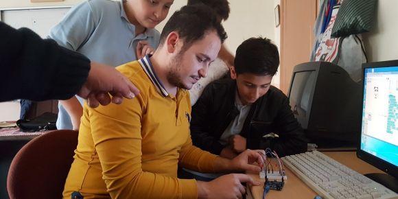Geleceği kodlayan çocuklar