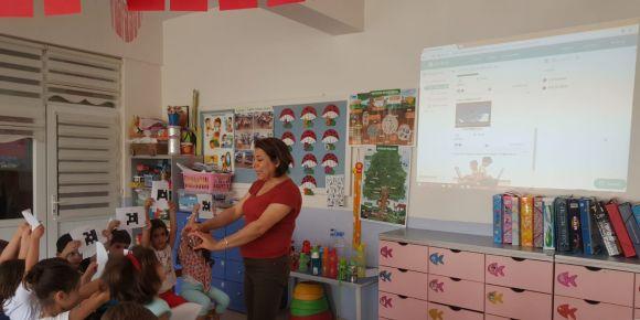 Okul öncesi dijital araçları kullanıyor