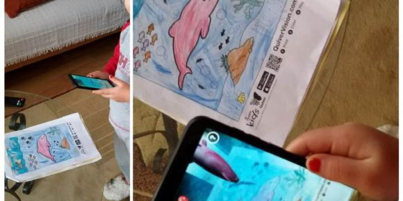 Quiver sanal gerçeklik ile temiz su alanını gözlemliyoruz