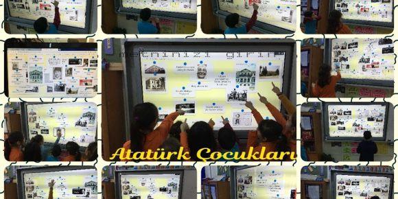 Öğrencilerimiz Atatürk'ün hayatını oyunla öğrendiler