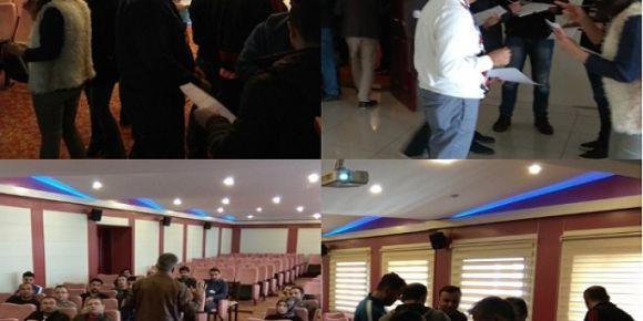 FATİH Projesi alan bazlı Türkçe eğitici eğitimi başladı