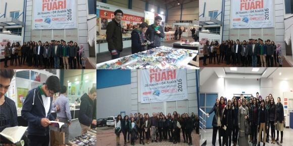 Mersin CNR Expo kitap fuarı ziyaretimiz