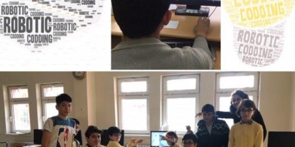 Robotik kodlamayla öğrenelim; kodla Türkiye kodla Avrupa