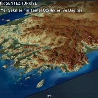 Türkiye'deki Yerşekillerinin Temel Özellikleri ve Dağılışı