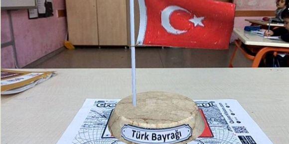 Türk bayrağımızı Quiver uygulamasıyla 3 boyutlu izledik