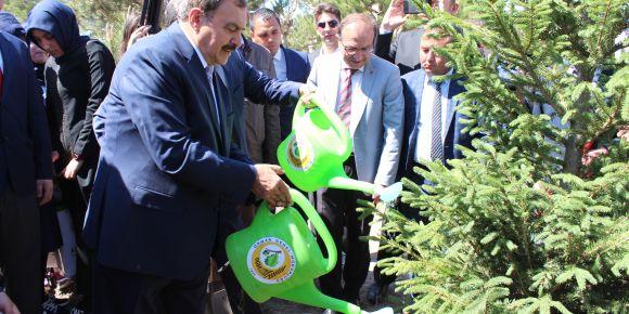 Orman ve Su İşleri Bakanımız okulumuzu ziyaret etti