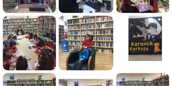 Milas ilçe kütüphanesinde 'kitapla oyun ve drama' etkinliği