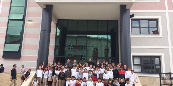 Güzeltepe Ortaokulu Beyaz Bayrak Aldı