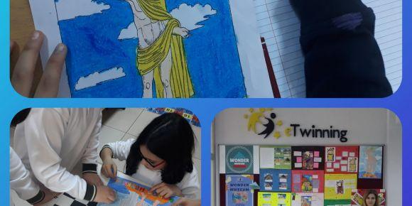 """""""Wonder Museum"""" eTwinning  projesi"""