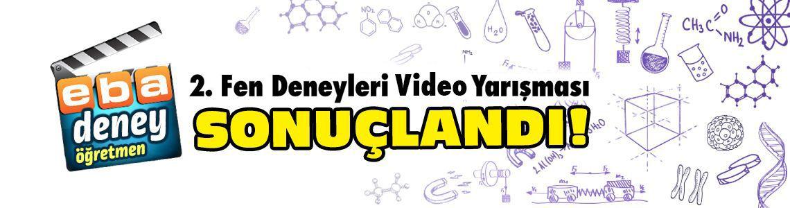 Fen Deneyleri Video Yarışması Sonuçları