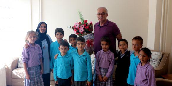 Kütahya Hisarcık Atatürk İlkokulu öğrencilerinden gazilere vefa ziyareti