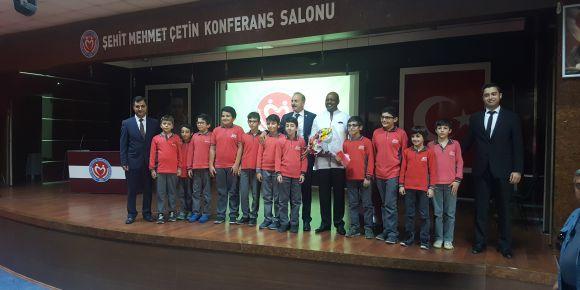 Ruanda Ankara Büyükelçisi okulumuzu ziyaret etti