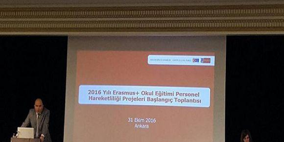 Erasmus+ Okul Eğitimi Personel Hareketliliği Projeleri açılış toplantısı