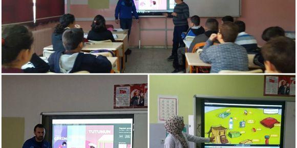 Yenihayat Ortaokulu  Afet Bilinci eğitim semineri