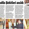 İnegöllü Şehitler Sergimiz yerel basında yer aldı