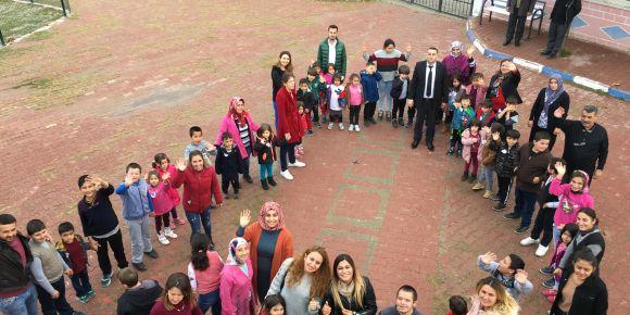 3 Aralık Dünya Engelliler Gününde okulumuza ziyaret