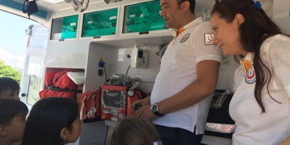 Ambulans Tanıtım Gezisi